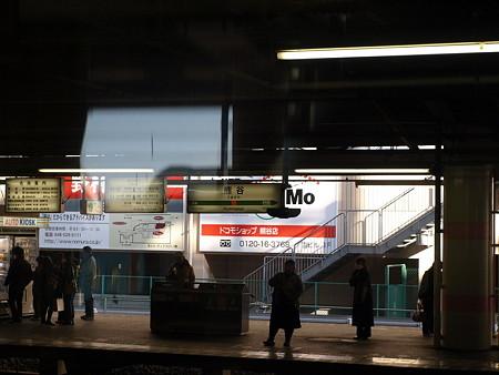快速アーバンの車窓(熊谷駅)