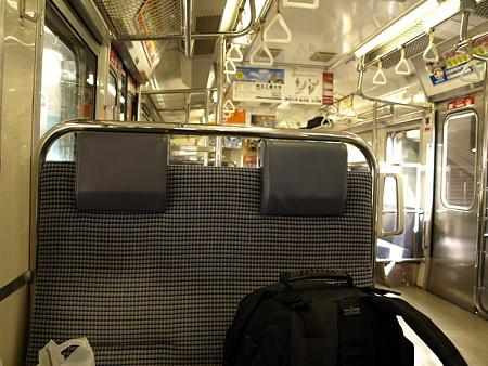115系車内(高崎駅)