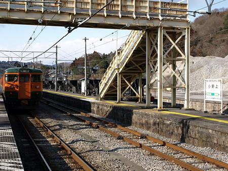 115系吾妻線(小野上駅)
