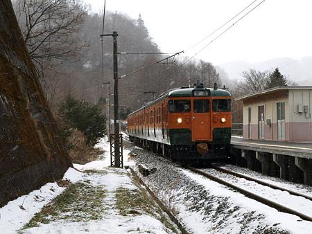 115系吾妻線(大前駅)