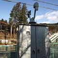 写真: 計器(岩島駅)