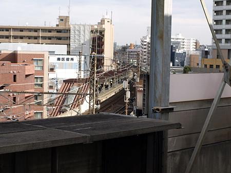 埼京線武蔵浦和駅から見た武蔵野線武蔵浦和駅