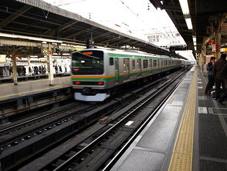 231系東海道線(横浜駅7番線)