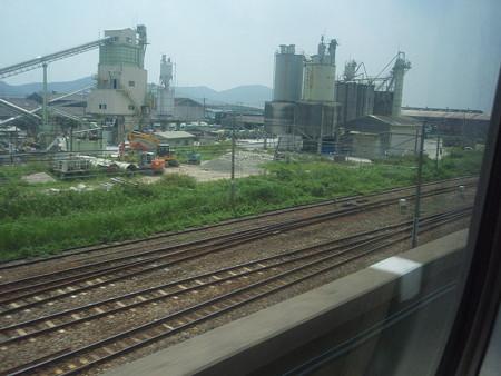 新幹線の車窓(姫路界隈)