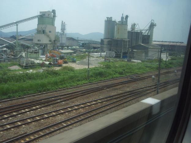 Photos: 新幹線の車窓(姫路界隈)