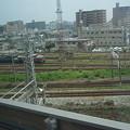 Photos: 新幹線の車窓(岡山界隈)