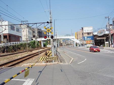 尾道駅踏切