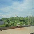 Photos: 700系レールスターの車窓(姫路城)