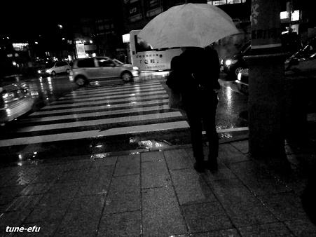 雨の月曜日
