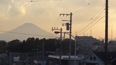 うっすらな富士