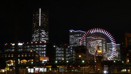 観覧車とビル夜景(1)(プレミアムオート)