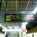 Photos: ダイヤ改正後のJR長野駅14番ホーム電光掲示板-0