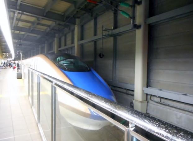 W7系W3編成(12両編成)金沢始発はくたか576号東京行き