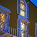 82薄暮の窓