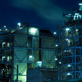 写真: 扇町の夜3