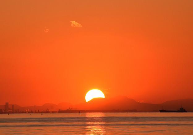 沈む夕日(3)