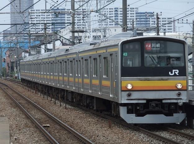 南武線205系0番台 ナハ43編成