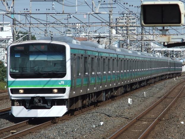 常磐快速線E231系0番台 マト114+マト139編成