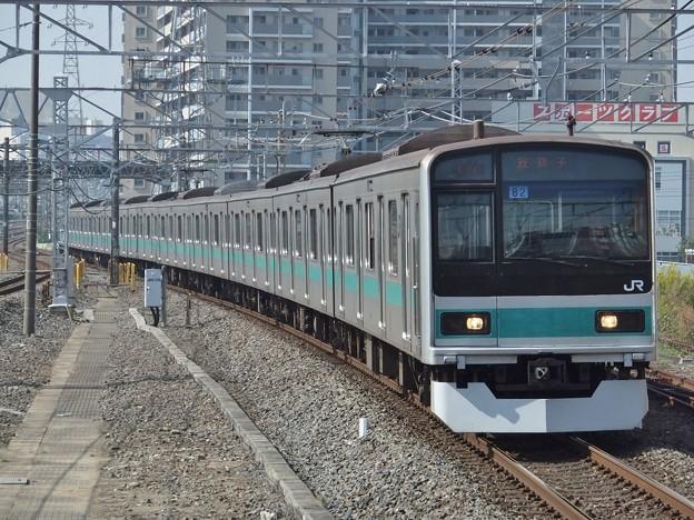 Photos: 常磐緩行線209系1000番台 マト82編成