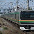 東海道線・上野東京ラインE231系1000番台 U-109編成他15両編成