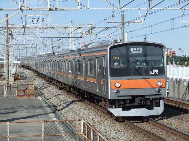 武蔵野線205系5000番台 M16編成