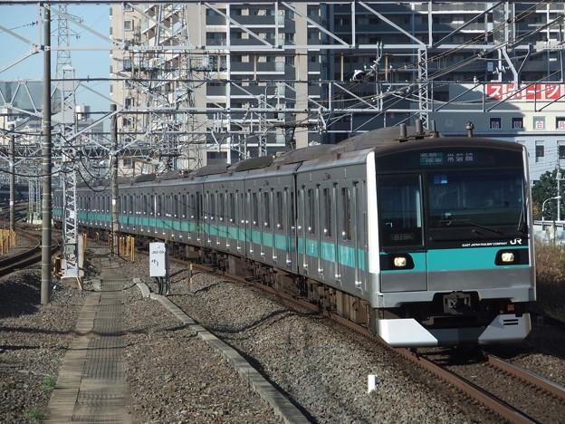 Photos: 常磐緩行線E233系2000番台 マト1編成