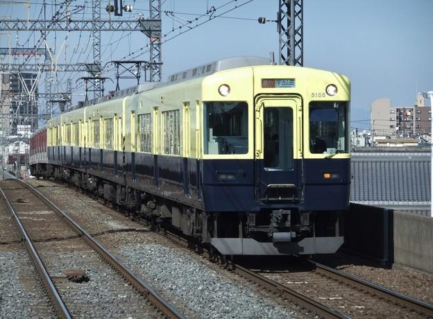 近鉄大阪線5200系 5205F他8両編成