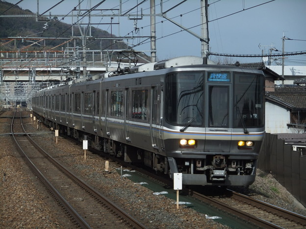 京都・神戸線新快速223系2000番台 V14編成