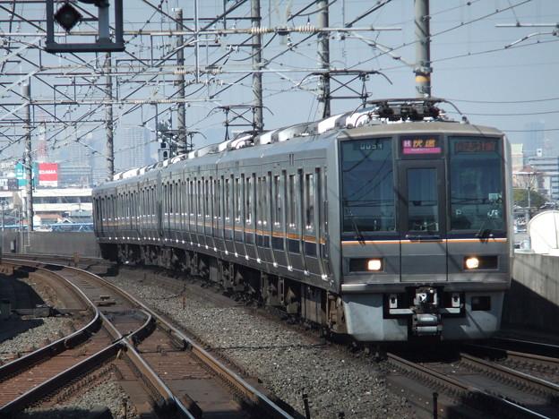 学研都市・東西線快速207系1000番台 T3+S3編成