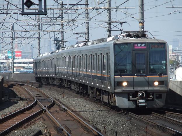 学研都市・東西線207系1000番台 T1+S2編成