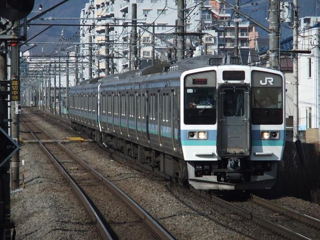 中央線211系3000番台 N322編成他6両編成