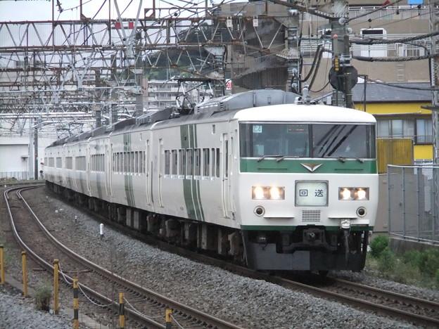 回送列車185系0番台 C4+A5編成