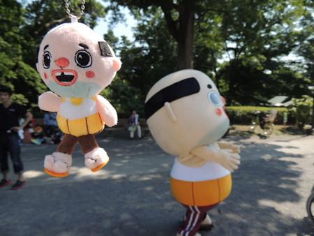 7/26(土) 岡崎コウエンナーレ オカザえもんとお別れしてコリラックマにも会いました。