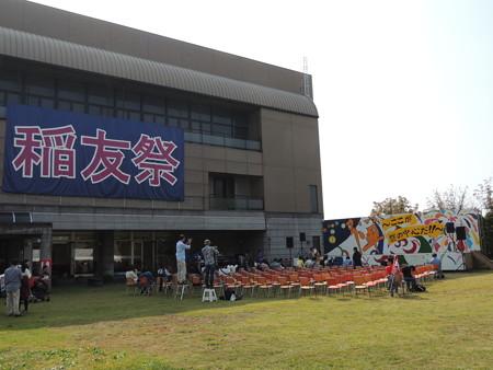 10/24(土) ナゴ球に行く前に 稲友祭でLOVE INA 30のライブがありました。