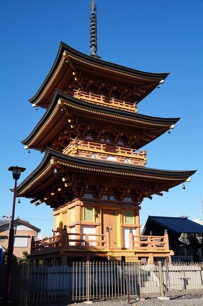 円鏡寺 三重塔