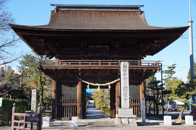 円鏡寺 楼門
