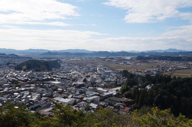 小倉山から美濃の街並み 2