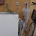傘と洗濯機