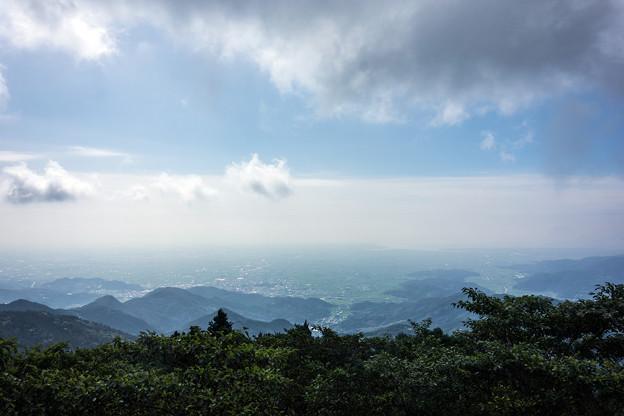 天山から見下ろす