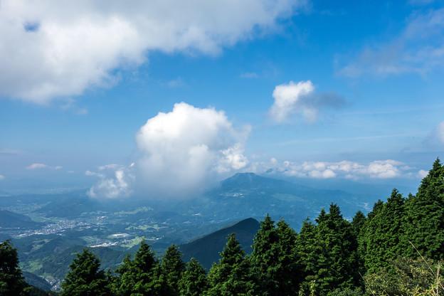 女岳と八幡岳