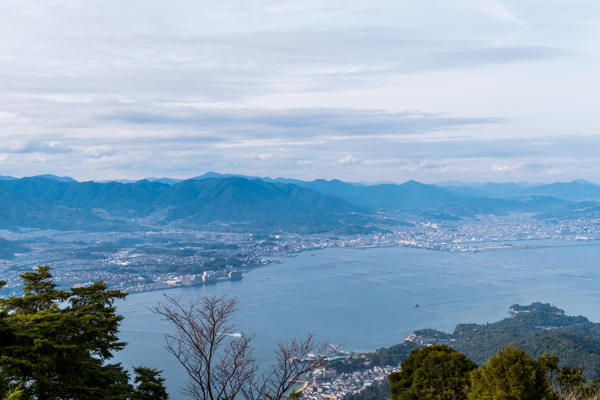 弥山からの眺望-2