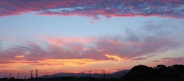 夕景の空  3  06:20