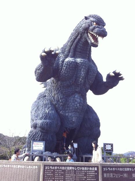 ゴジラ、横須賀に現れる(2)