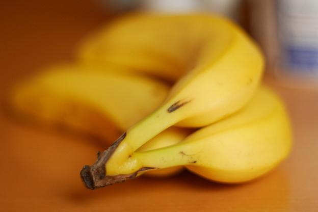 融けるバナナ