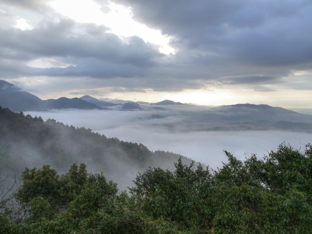 四王寺山からの雲海