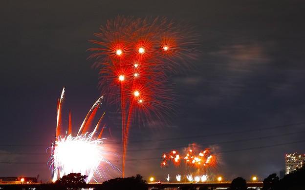 2014年第73回多摩川花火大会、第36回世田谷区たまがわ花火大会