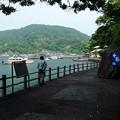 淡島の船乗場