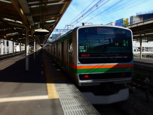上野東京ライン快速アクティー