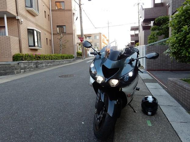 写真: DSCN0579 出発前5:30