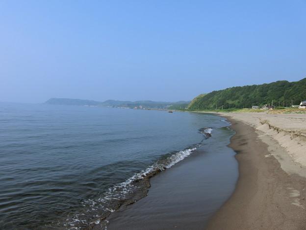 今年初の海~積丹野塚海岸